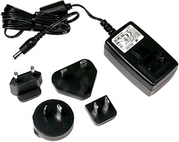 500 0114 000 Rae Systems Universal Wall Charger Adapter