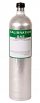 RKI Calibration Gas Cylinder 116L H2S 25ppm CO 50ppm CH4 2.5% O2 12% /N2 81-0154RK-116