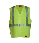Dickies FR 7 oz. UltraSoft Hi-Vis Yellow Vest 3497FY