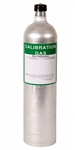 81-0154RK-04 RKI Calibration Gas Cylinder 34L H2S 25ppm, CO 50ppm, CH4 2.5%, O2 12% /N2