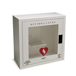 Allegro Safety Small Metal Defibrillator Wall Case w/ Alarm 4210-01