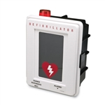 Allegro Safety Plastic Defibrillator Wall Case with Alarm and Strobe 4400-DA