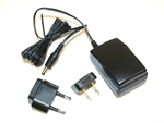 500-0036-100 RAE Systems Universal 110 to 240 VAC, 12VDC Wall Charger Adapter