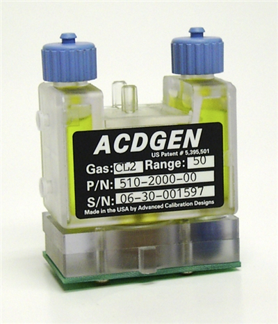 ACD CAL 2000 Hydrogen HCN Double Life 100 Hour Micro Source 0.1 - 2.0ppm 510-2070-25