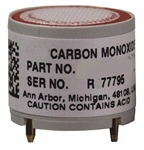 GfG Replacement Carbon monoxide CO Sensor 0-2000ppm w/ Filter 5712-2000R