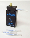 ACD QC-100 Calibration Gas Bump Test Ammonia NH3 Hydrogen chloride HCl Toluene C7H8 Hexane C6H14 850-1100-00