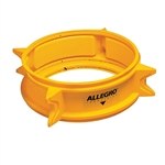 Allegro Safety High Impact Polymer Manhole Shield Yellow 9401-12