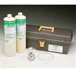 Allegro Carbon monoxide CO Calibration Kit 9872-60. Used to check and calibrate the CO Monitor on Allegro's Carry-Air, Wall-Air or Oil-Less Compressor
