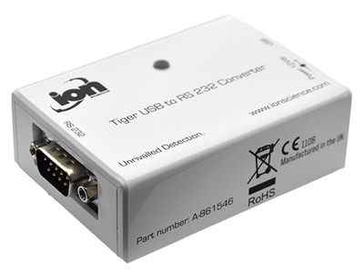 A-861546 ION Science Tiger VOC Detector USB to RS232 Converter