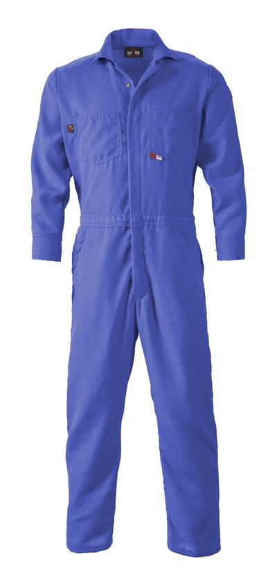 CJS08 Saf-Tech 7oz Indura Contractor FR Coverall S-6X Numerous Colors available