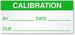 Gas Monitors Detectors Calibration Sticker to visually track calibrations and maintenance