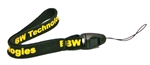 Technologies Short Lanyard Strap for Gas Monitors 6 in / 15.2 cm GA-LY-1 BW