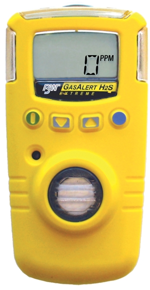 BW Technologies Gas Alert Extreme single gas monitor GAXT- by Honeywell