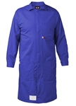 Saf-Tech 9 oz Indura 100% Cotton FR Lab Coat HRC 2 11.5 cal LAB16