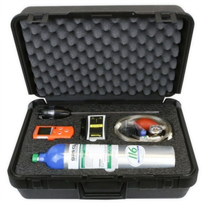 Gas Clip Technologies MGC MGC-P Multigas Monitor Confined Space KIt w/ calibration gas cylinder MGC-CSK-GAS