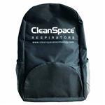 CleanSpace Carry Backpack Black for CleanSpace2 and CleanSpace EX PAF-0099