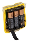 BW GasAlert Quattro Alkaline Battery Pack Yellow QT-BAT-A01