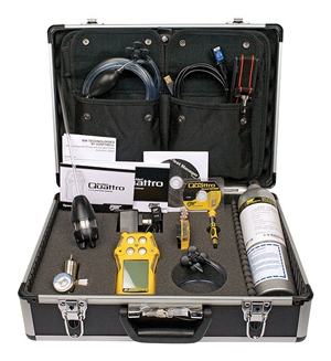 BW Technologies GasAlert Quattro Confined Space Kit QT-XWHM-R-Y-NA-CS