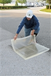 UltraTech Ultra-Drain Seal Clear Cover stop spills going down the drain
